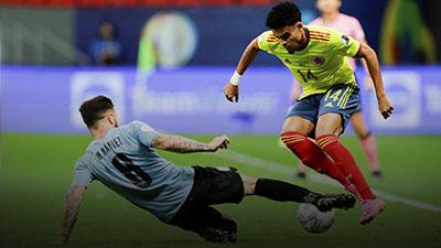 Uruguai vs Colombia